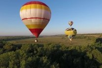 В Тернополе в день города запустили воздушные шары