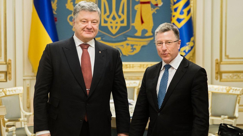 Встреча Порошенко и Волкера: о чем говорили политики