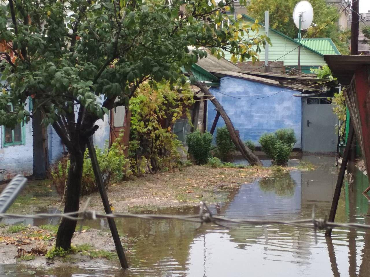 Популярный украинский курорт ушел под воду