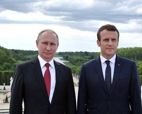 «Демонтаж Евросоюза»: Макрон рассказал, о чем втайне мечтает Путин
