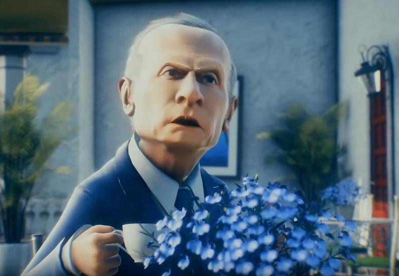 Путин-вор потерял Украину и стал героем забавного мультфильма