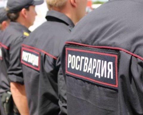 В России показали, чем будут разгонять толпы недовольных людей