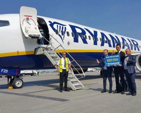 Цей день настав: літак Ryanair здійснив перший рейс з України