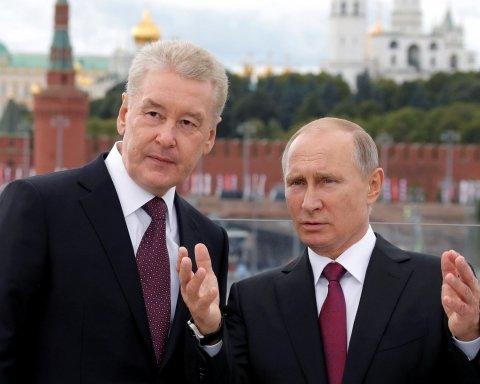 Вибори в РФ: росіяни знову вибрали Собяніна мером Москви