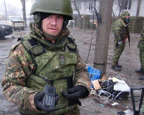 """Російські ЗМІ показали """"вбивцю"""" бойовика Мотороли: відео"""