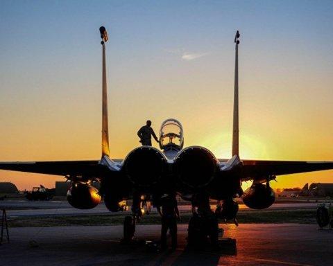В Украину прибыли американские военные самолеты