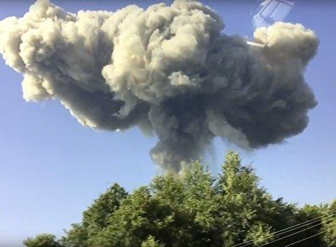 СБУ рассматривает три версии взрывов в Ичне: подробности