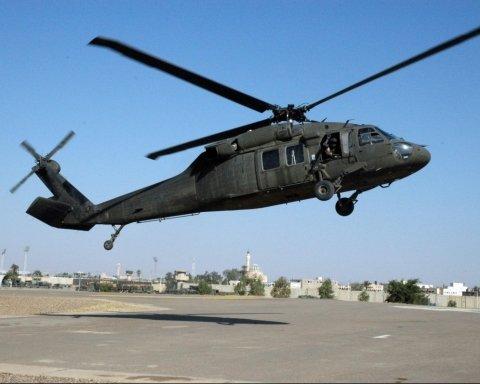 У США впав військовий гелікоптер, є постраждалі: перші подробиці