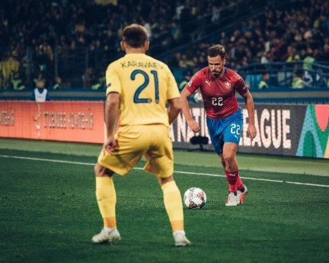 Україна – Чехія 1:0: онлайн-трансляція матчу Ліги націй, відео голу