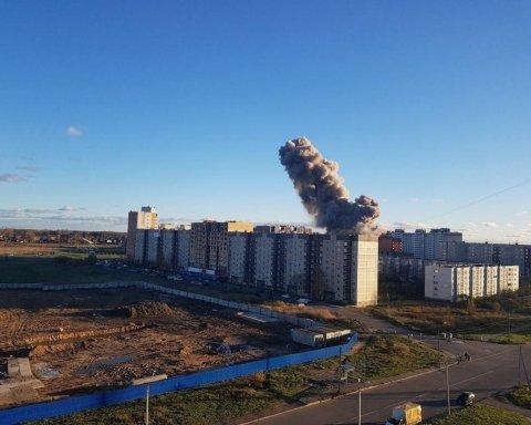 У Росії прогримів вибух на піротехнічному заводі: перші фото та відео