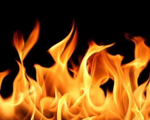Под Львовом загорелся отель, пострадали иностранные туристы