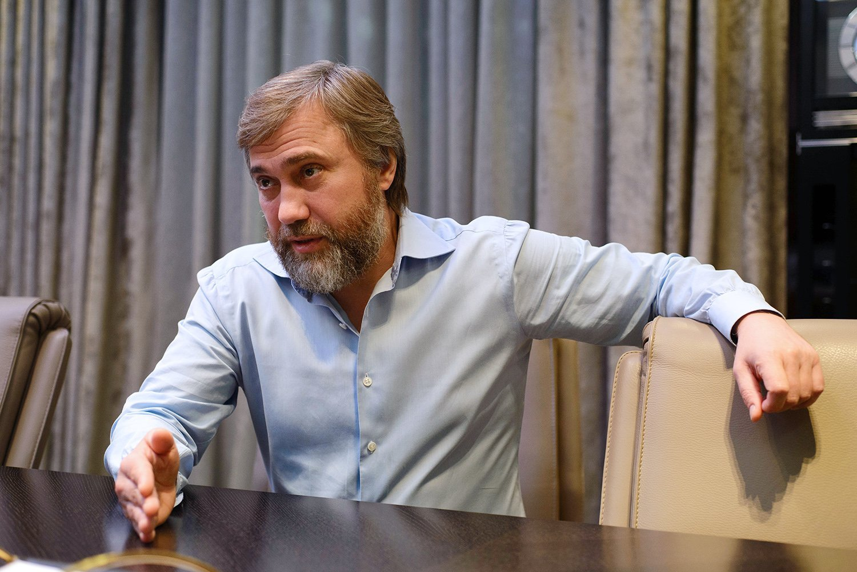 Вадим Новинский возглавил Партию мира