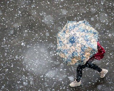 Снег и другие неприятности: синоптики дали свежий прогноз для Украины