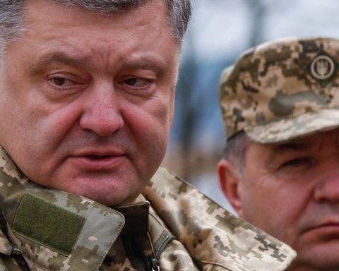Порошенко прийняв гучне рішення щодо міністра оборони Полторака