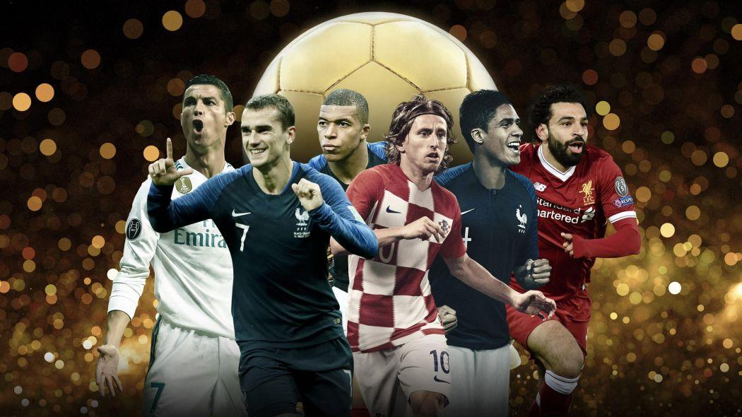 Названы все претенденты на Золотой мяч-2018