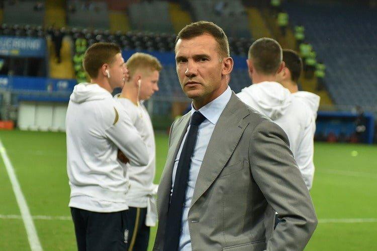 Италия — Украина: стартовые составы на матч