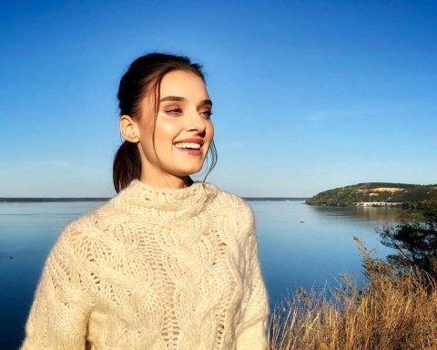 Лишенная короны и титула Мисс Украина 2018 Вероника Дидусенко показала фото с сыном