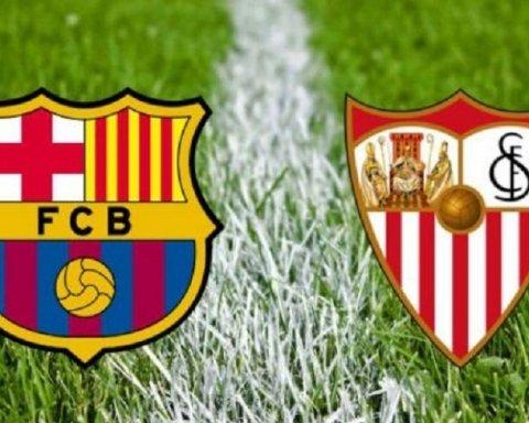 Барселона — Севилья: где смотреть онлайн матч Примеры