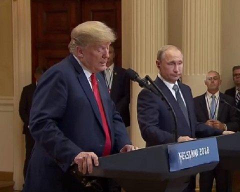Відомий художник показав всю суть відносин Путіна і Трампа: кумедна карикатура