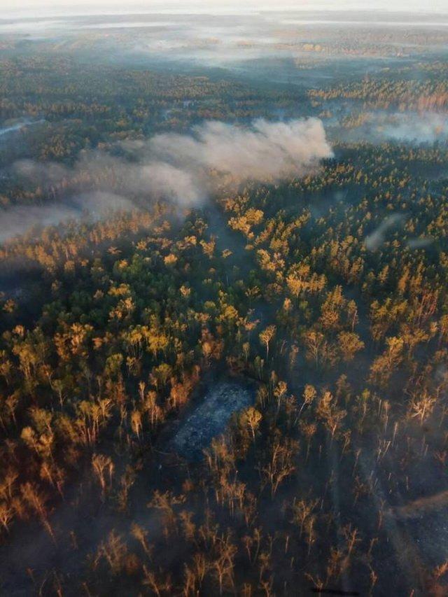 Ситуація в Ічні: з'явилися нові дані та вражаюче фото з висоти