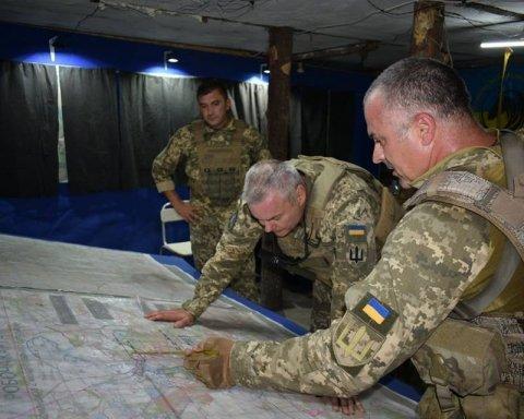 Командующий ООС ответил на вопросы про штурм Донбасса