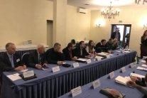 У Києві зірвали скандальну зустріч з російською делегацією: з'явилося відео
