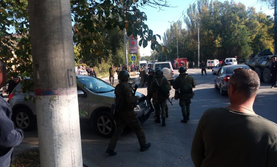 Теракт в Керчи: фото, видео и все подробности
