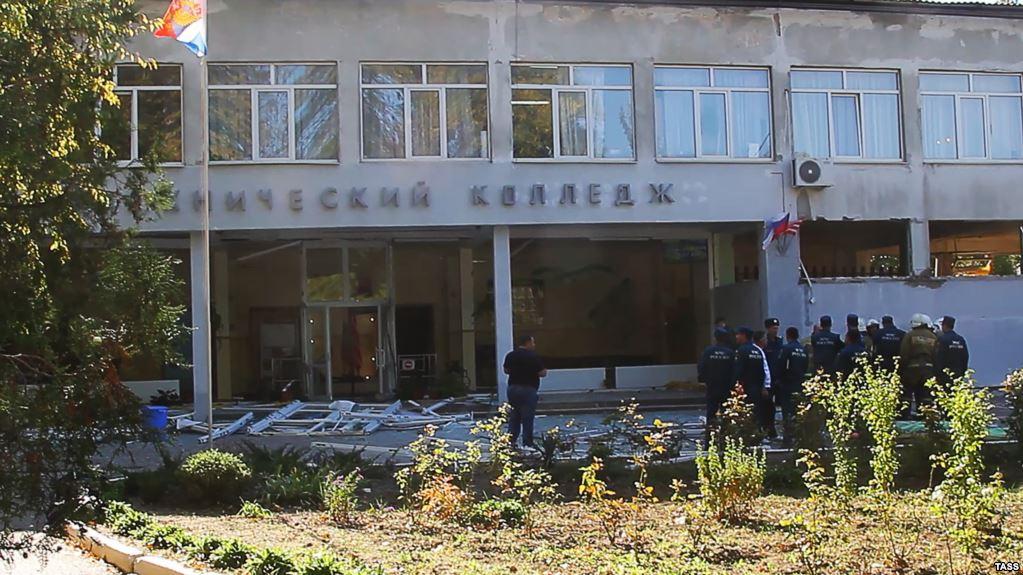 Теракт в Керчи: появились новые фото с места массового убийства