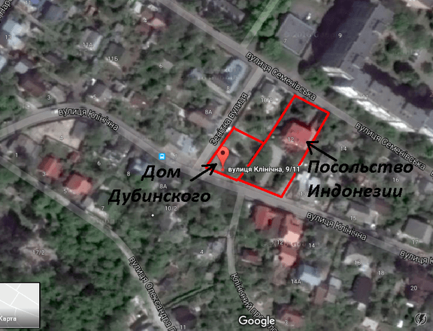 У журналиста «1+1» Дубинского нашелся еще один дом на Соломенке возле посольства Индонезии