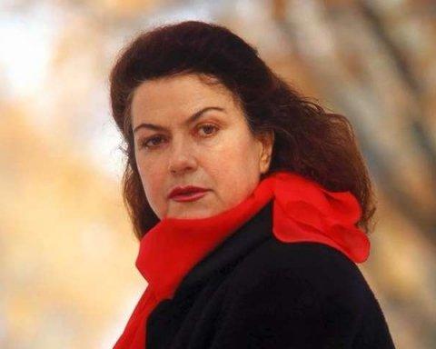 Умерла знаменитая украинская актриса
