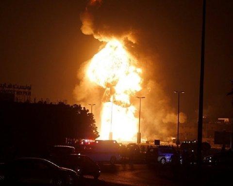 Аналогів немає: у Європі вибухнув нафтопереробний завод