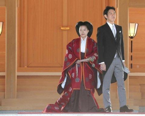 Принцеса Японії вийшла заміж і зреклася престолу: з'явилися фото і відео