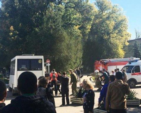 Теракт в Керчі: росіяни влаштували істерику, звинувачують Україну і лякають Сенцовим