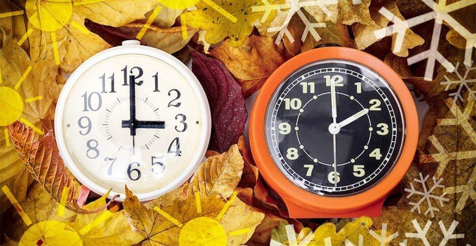 Переход на зимнее время: когда в Украине переводят часы
