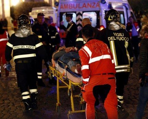 Там были украинцы: видео первых минут после кровавой аварии на эскалаторе в Риме