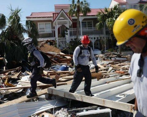 Ураган «Майкл» во Флориде крушил все на своем пути: ужасающие кадры последствий