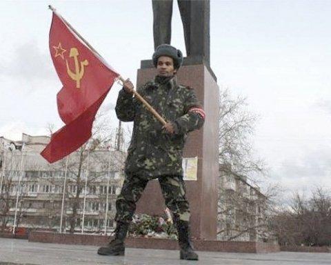 """Бойовики """"ДНР"""" прикрили """"комуністичну партію"""": мережу повеселило відео з обуреннями """"Чорного Леніна"""""""