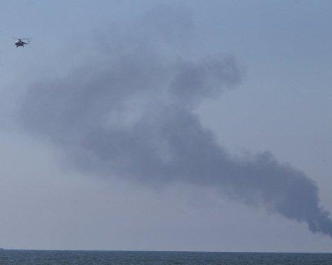 На борту сотні людей: у Балтійському морі вибухнув і загорівся пасажирський пором