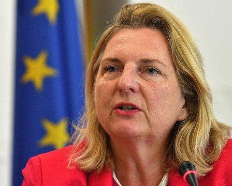 Австрийская подружка Путина сделала неожиданное заявление по антироссийским санкциям