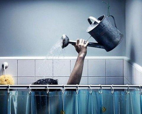 Киевлянам рассказали о пользе отсутствия горячей воды