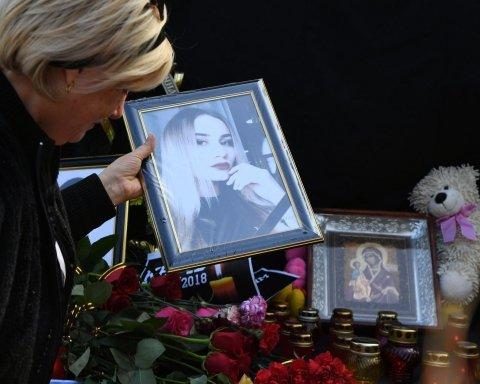 """""""Росія – це смерть"""": з'явилися нові фото з похорону вбитих у Керчі дітей"""