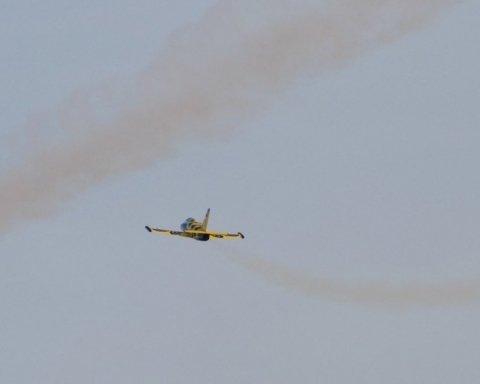 У Росії розбився військовий літак: перші подробиці