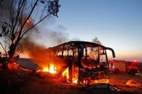 Ізраїль відповів на потужну ракетну атаку з боку ХАМАС: подробиці