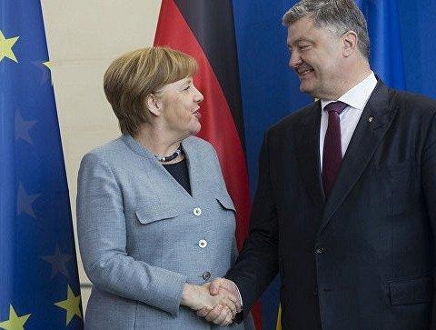 Зустріч Порошенка та Меркель: названо основні теми переговорів