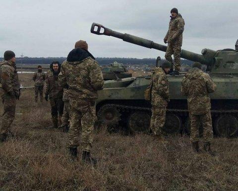 Война на Донбассе: после боя исчез украинский солдат