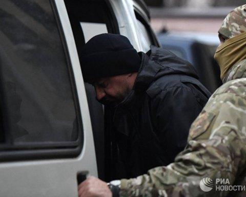 """""""Суд"""" у Криму: з'явилося фото з затриманим українським моряком"""
