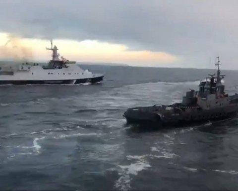 Стало відомо, куди Росія відправила захоплені українські кораблі