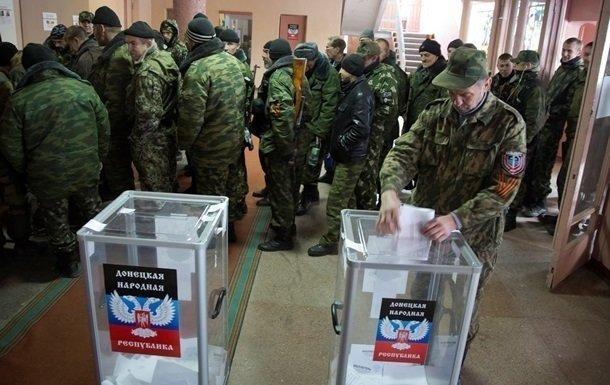 На оккупированном Донбассе начались «выборы» главарей «ДНР-ЛНР»: все подробности
