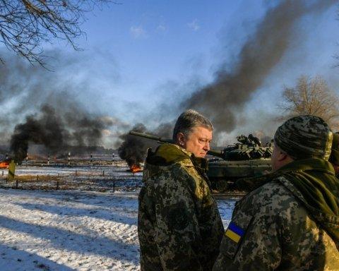 Порошенко назвал две области Украины, где может атаковать Россия
