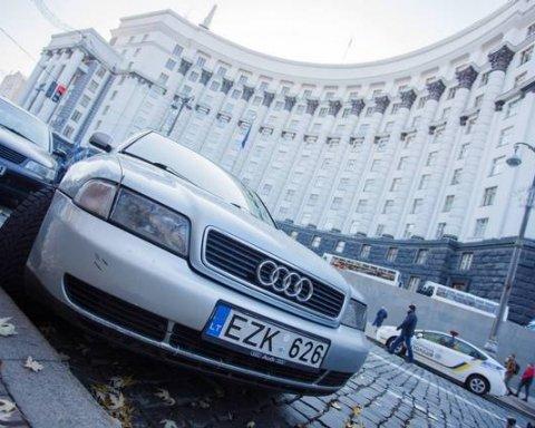 Перекрытие дорог владельцами «евроблях»: в МВД приняли радикальное решение